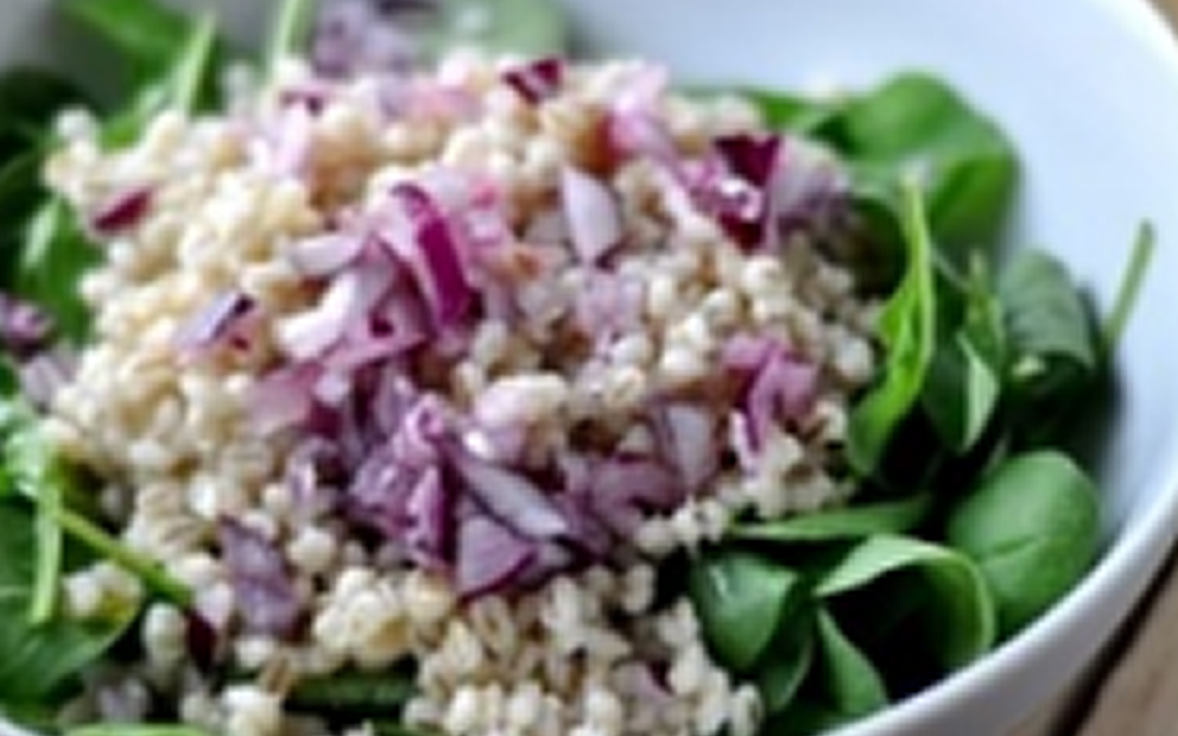 Barley and Sunflower Salad