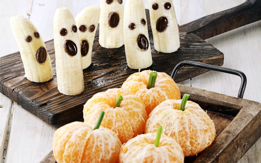 4 Healthy Halloween Treats You Can Make In 5 Minutes