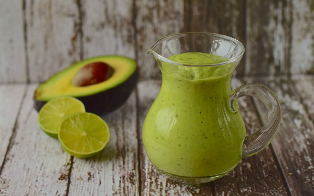 Lemon Avocado Dressing